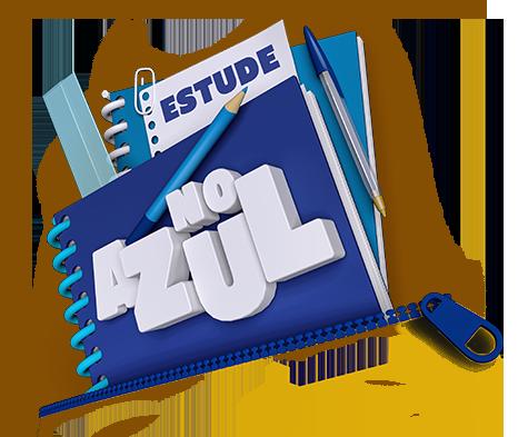 Estude no Azul - logo