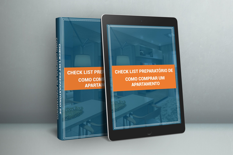 Capa eBook Checklist como comprar um apartamento