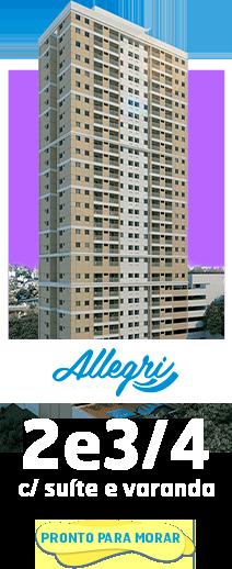 Anúncio Allegri - Apt. 2 e 3/4 com suíte e varanda