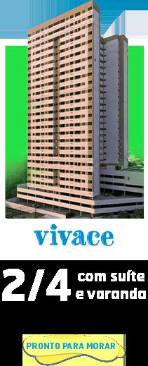 Anúncio Prédio Vivace - Apt. 2/4 com suíte e varanda