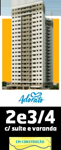 Anúncio Adorato - Apt. 2 e 3/4 com suíte e varanda