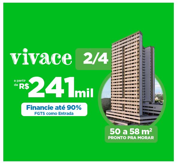 Vivace - 2/4 a partir de R$ 241 mil