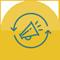 ícone automação de marketing 60x60