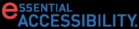 Logo Essential Accessibility, com a primeira letra