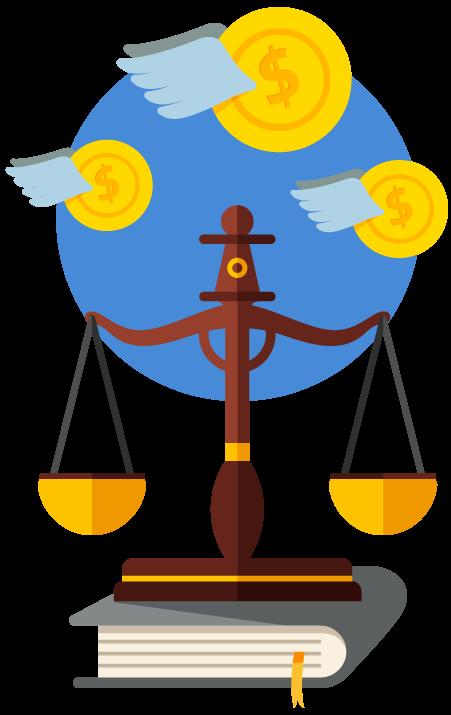 Símbolo da justiça - Implemente acessibilidade no seu site e evite possível multa