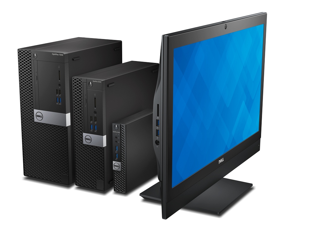 Desktops e AiO Dell Optplex microtel IT Solutions