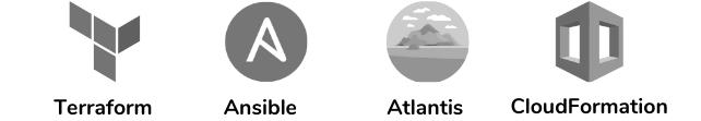Terraform, Ansible, Atlantis, CloudFormation