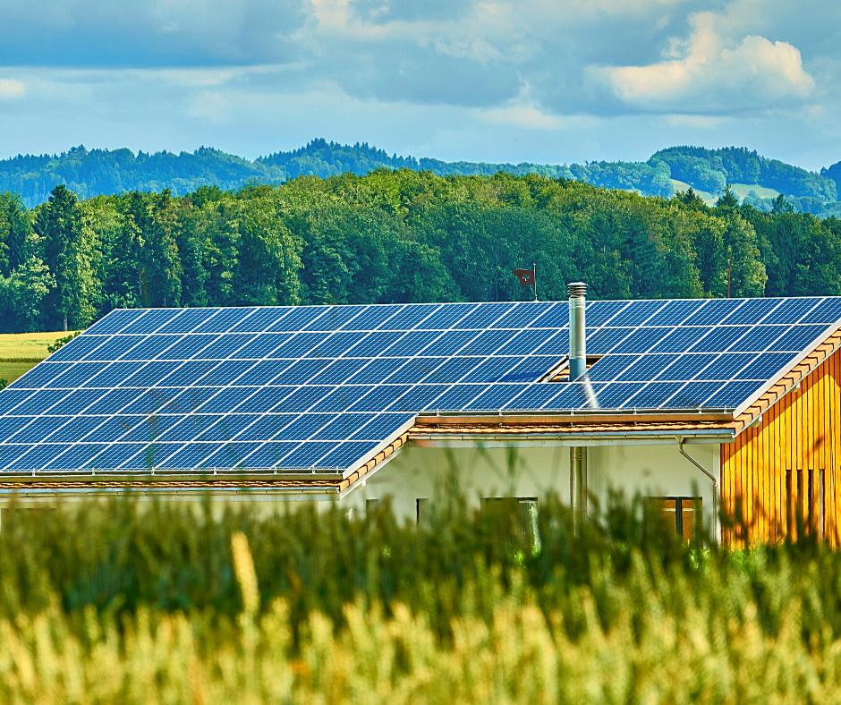 Energia Solar no campo