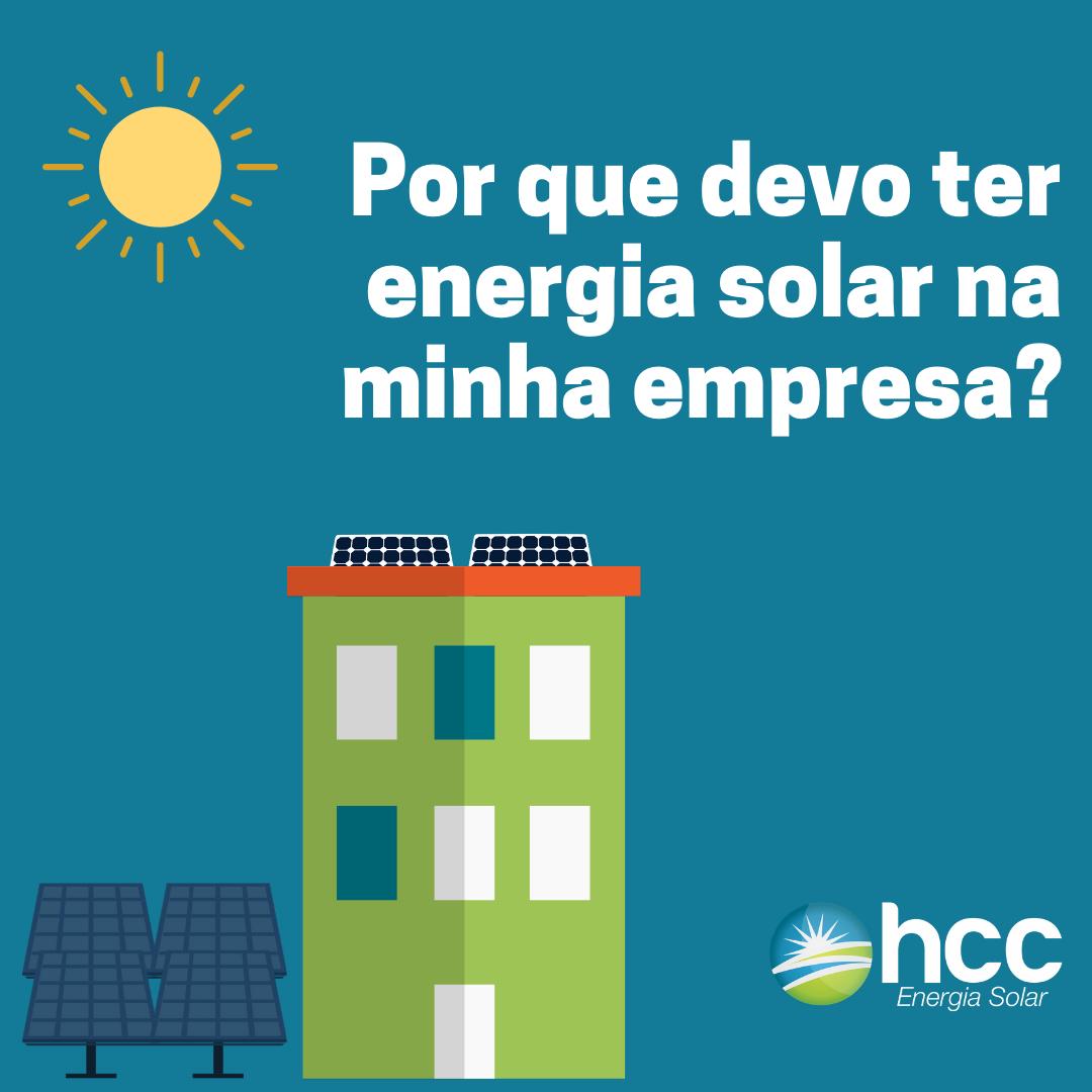 capa ebook por que devo ter energia solar na minha empresa