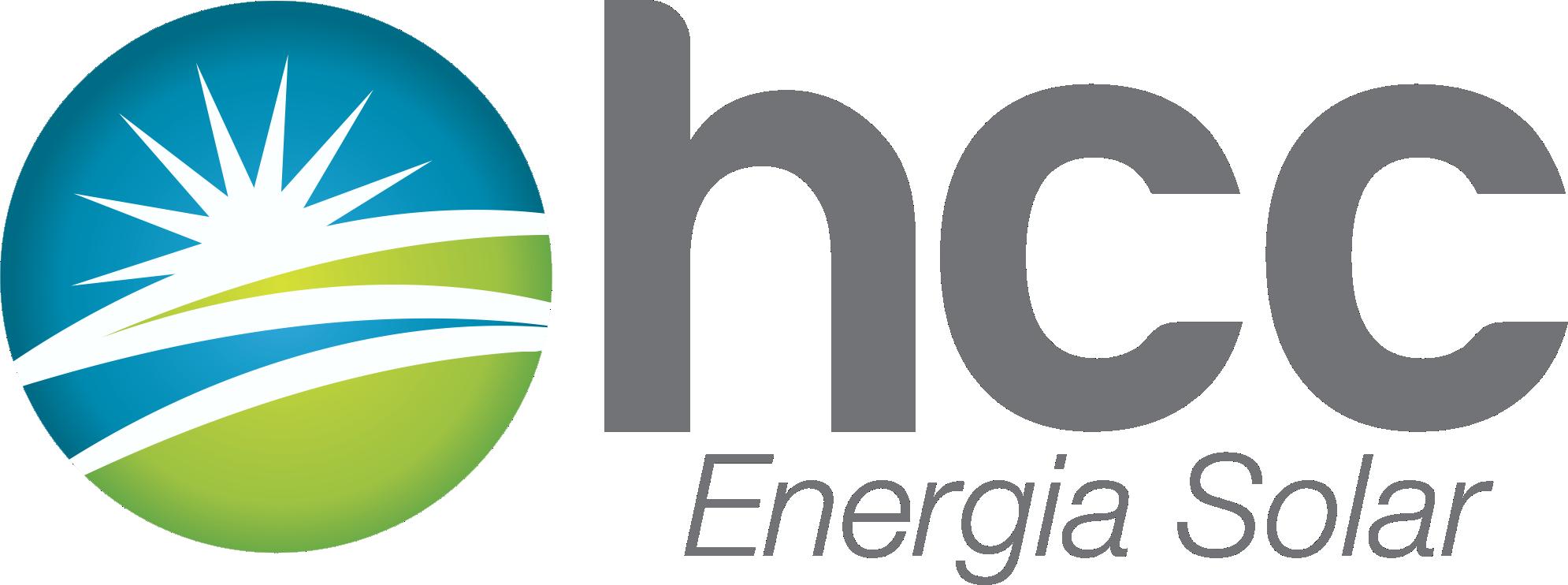 logo cinza hcc energia solar manual sustentável para empresas