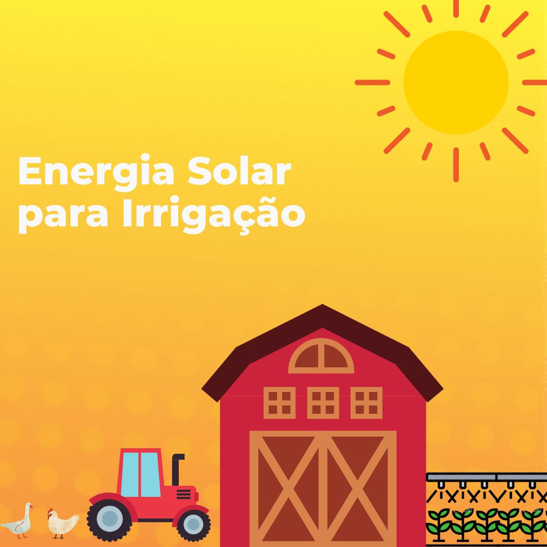 capa ebook gratuito energia solar para irrigação