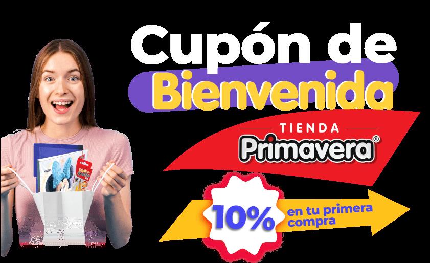 Cupón de Bienvenida | Tienda Primavera | 10% en tu primera compra