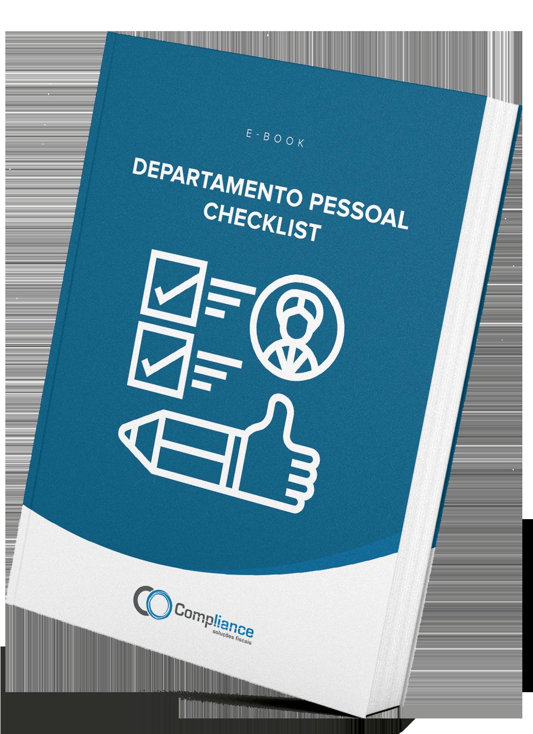 Checklist do Departamento Pessoal