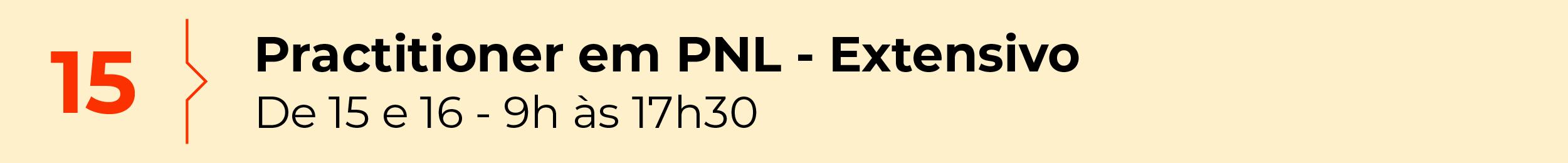Practitioner em PNL - Extensivo