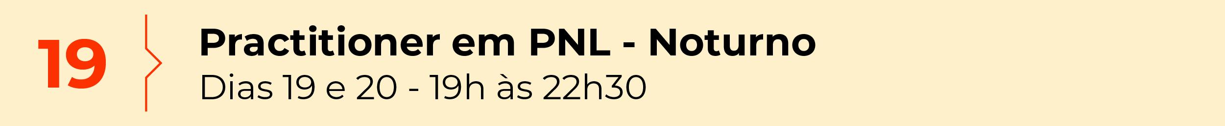 Practitioner em PNL - Noturno