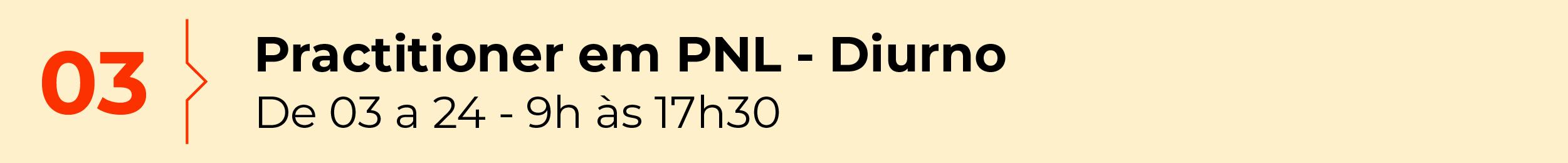 Practitioner em PNL - Diurno