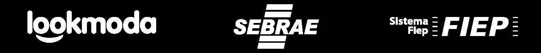 Logos Lookmoda e Sebrae