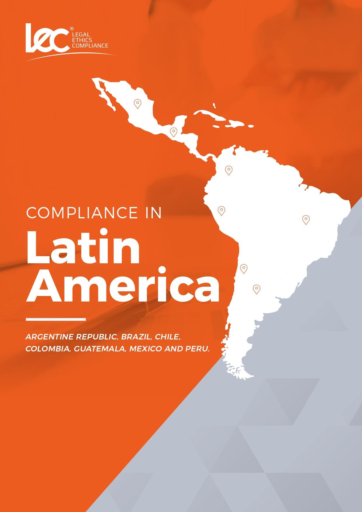 Capa ebook compliance na américa latina