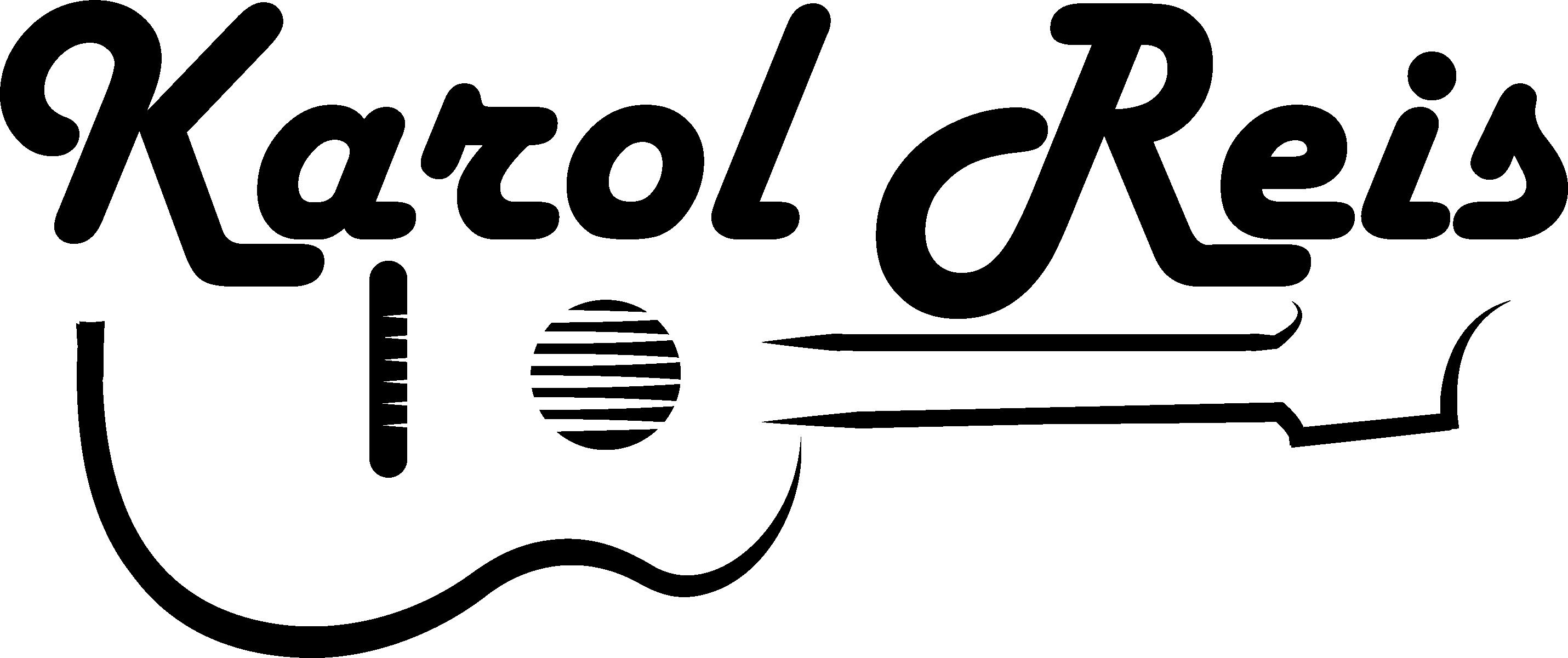 Logo para cantores da Karol Reis