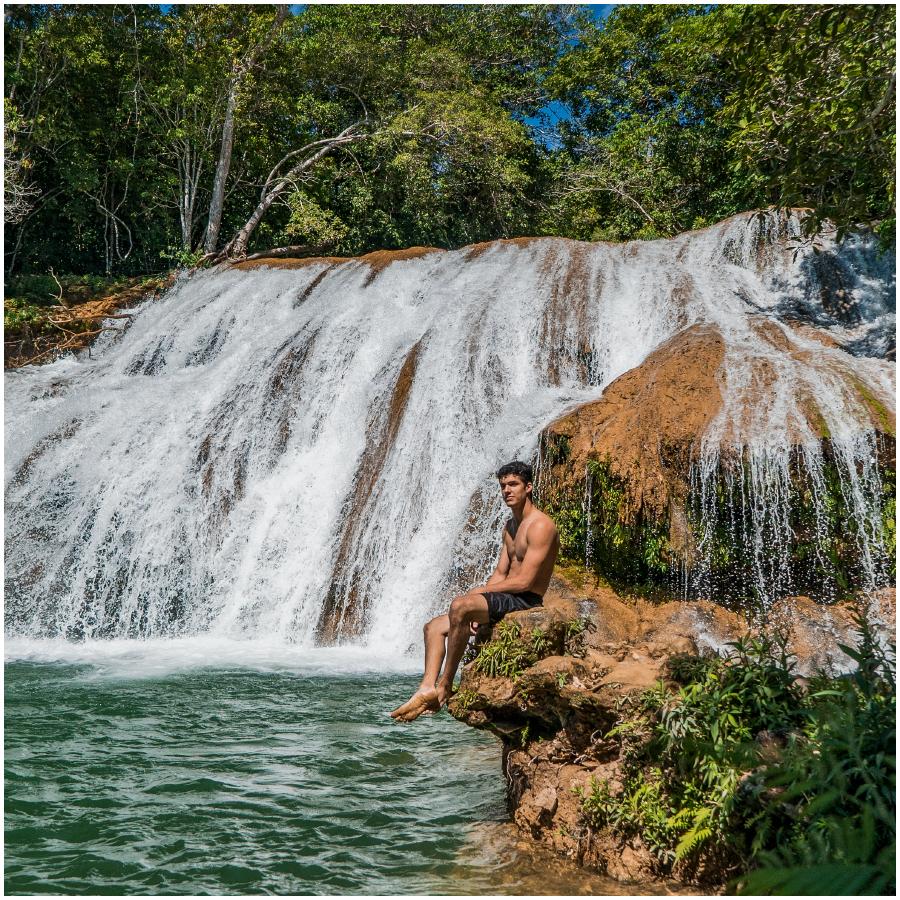 Passeio nas Cachoeiras da Serra da Bodoquena