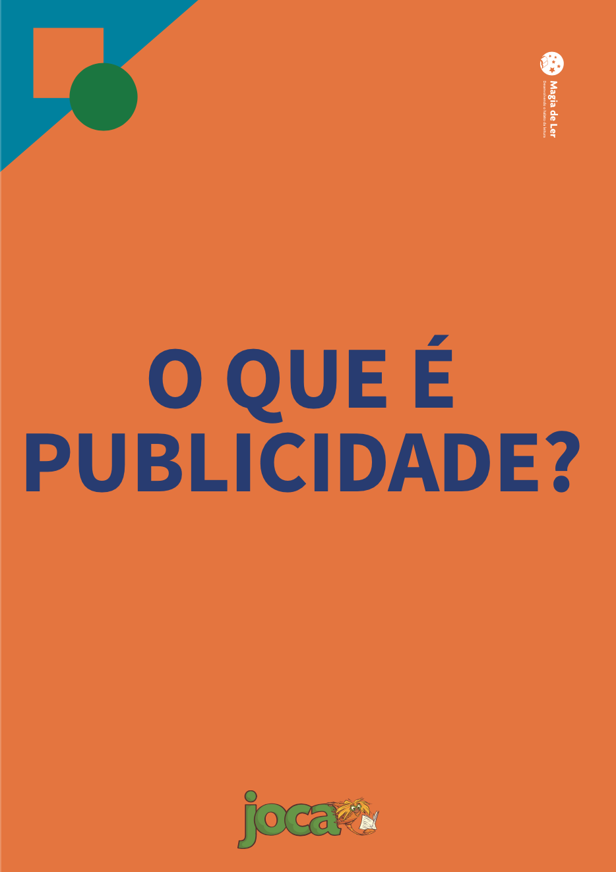 eixo publicidade, aula 1: o que é publicidade?