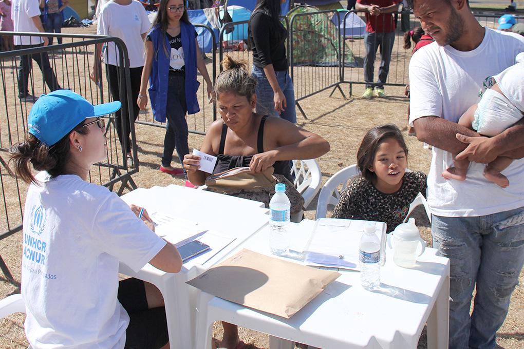 Foto de ação realizada nos abrigos do Ancur