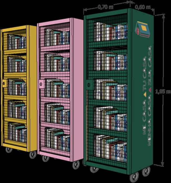 Ilustração projeto de bibliotecas do projeto