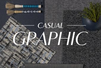 Coleção Casual Graphic by Quaker Decor
