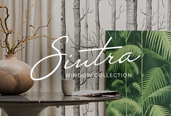 Coleção Sintra Window Collection by Quaker Decor.
