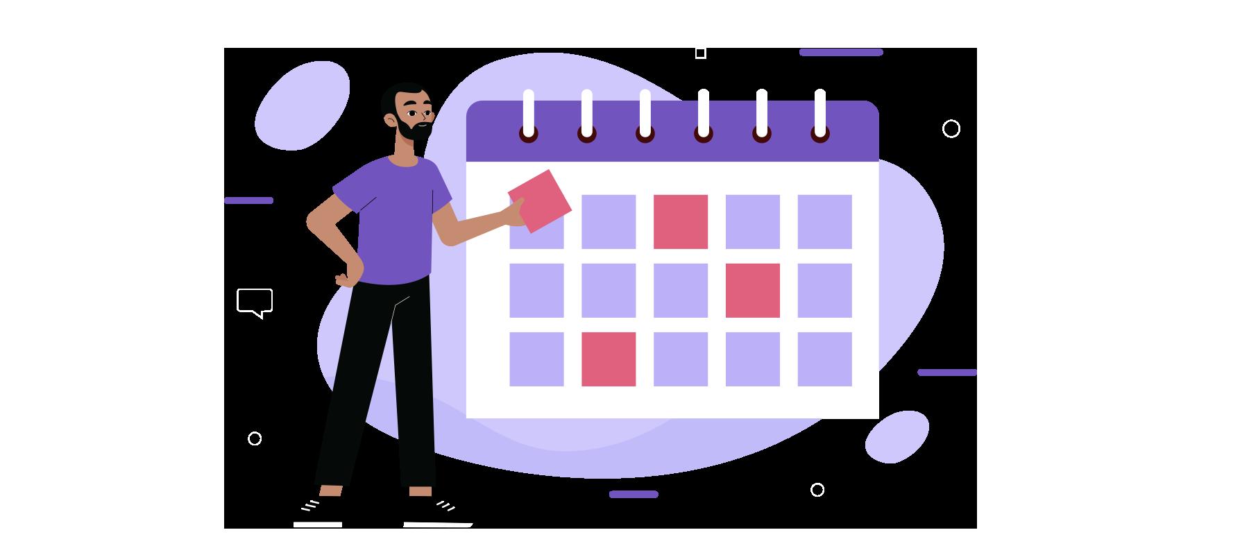 Calendário de marketing  Agosto/2021