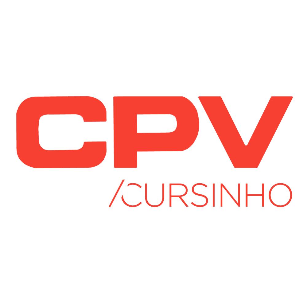 Logo do Cursinho CPV - Completa você para o vestibular!