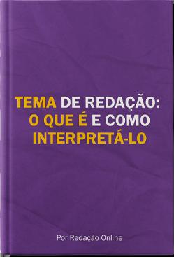 Ebook Tema de Redação