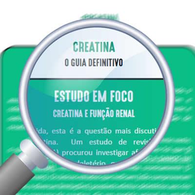 creatina e função renal