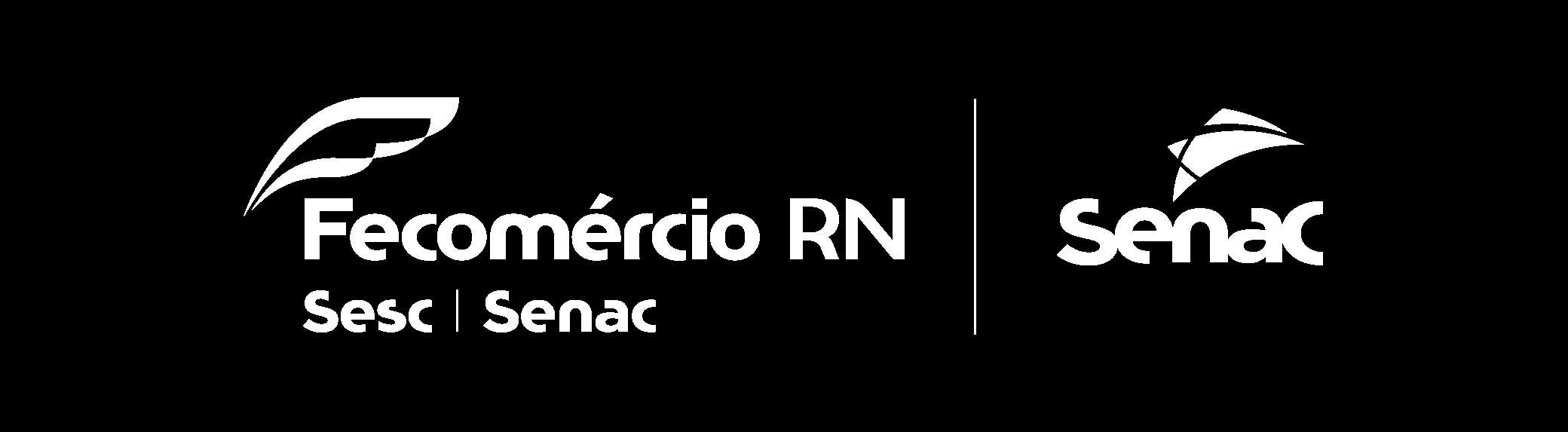 Marca Fecomércio RN e Senac RN