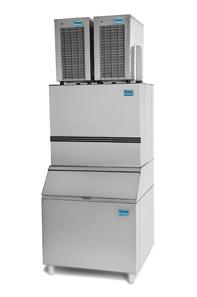Máquina de Gelo em Escama  Capacidade de Depósito : 360kg