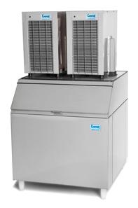 Máquina de Gelo em Escama  Capacidade de Depósito : 180kg