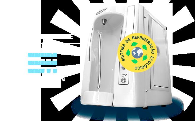 Purificador de Água - 15 Copos de Água Gelada por Hora