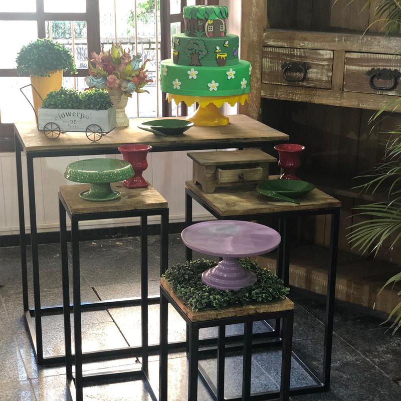 Material de festas + mesas