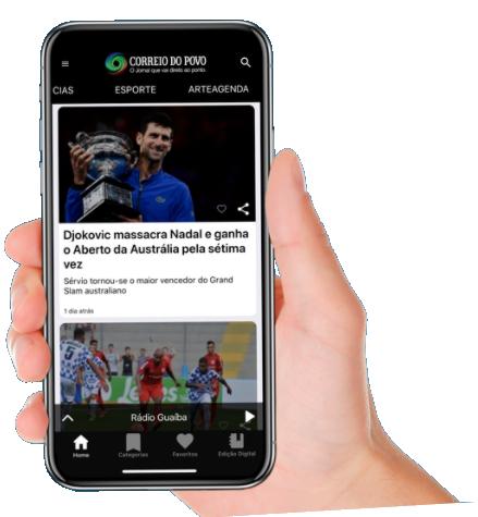 MavenApp para portais de notícias