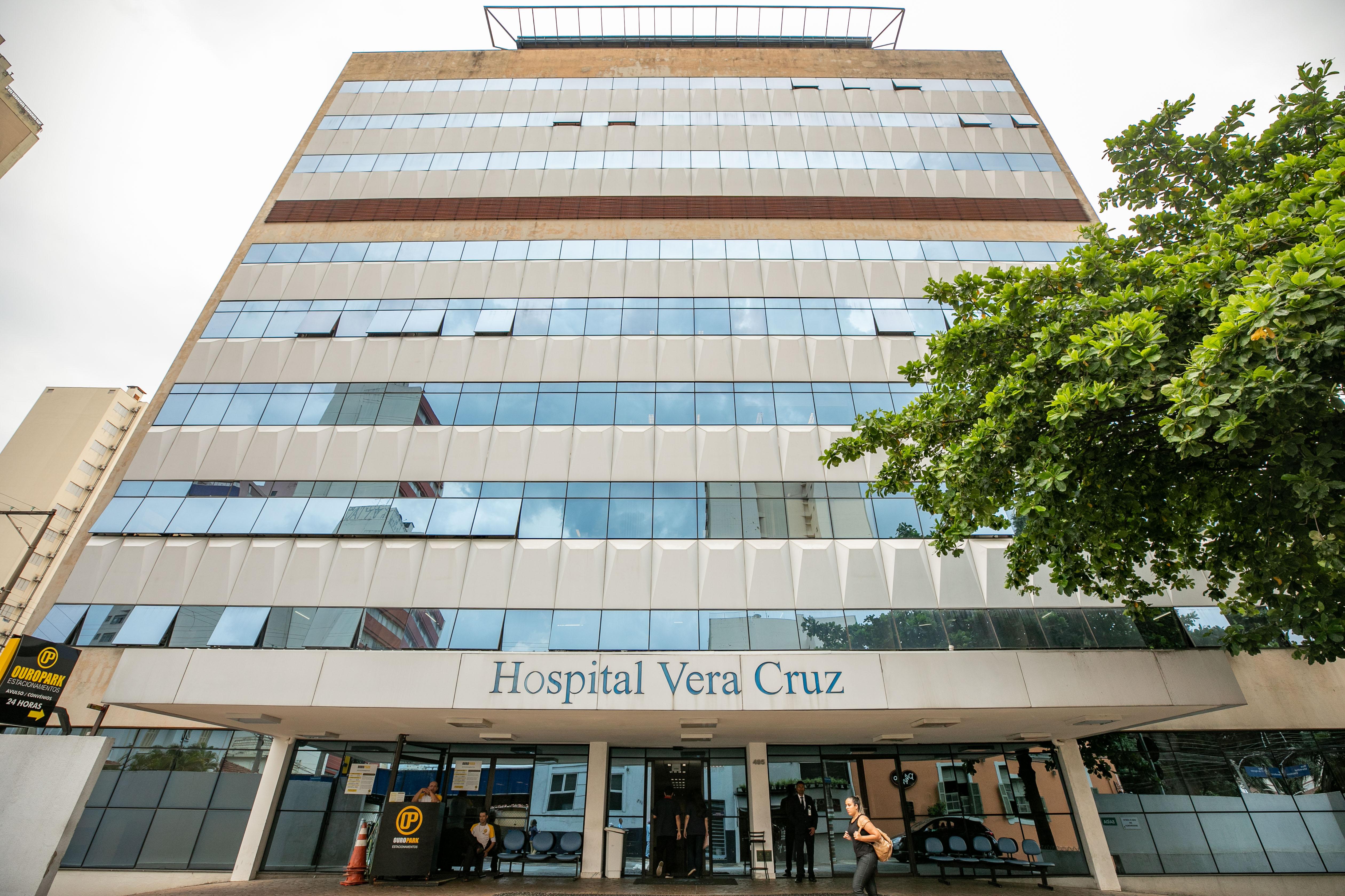 Fachada Hospital Vera Cruz
