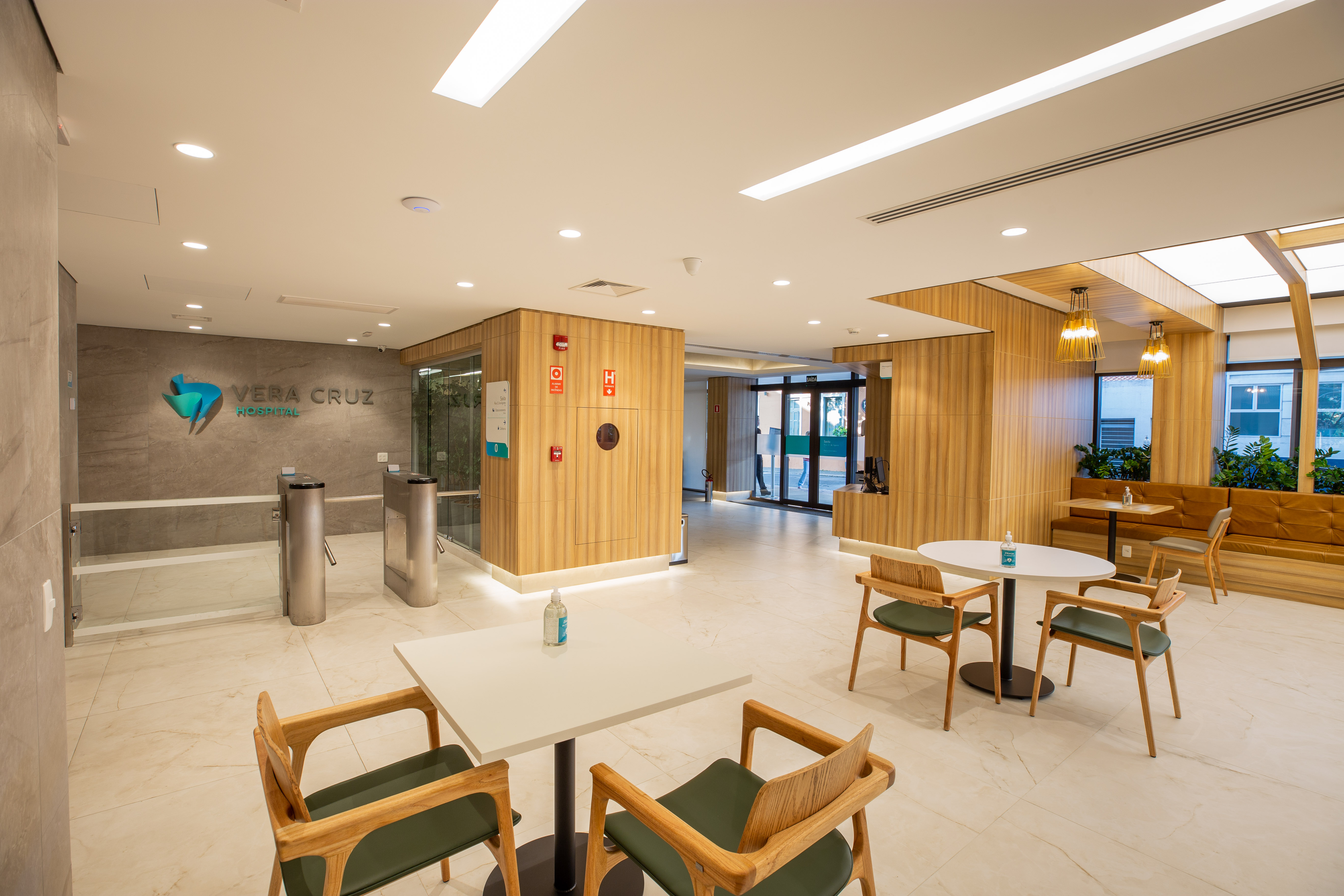 Nova Recepção Hospital Vera Cruz
