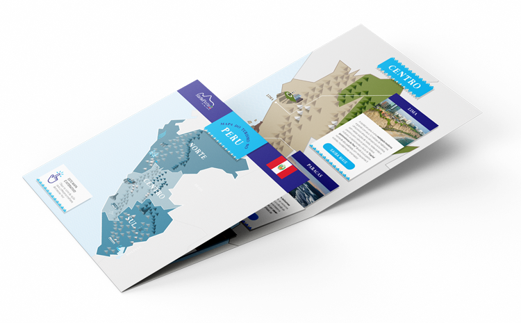 mapa do turismo no peru