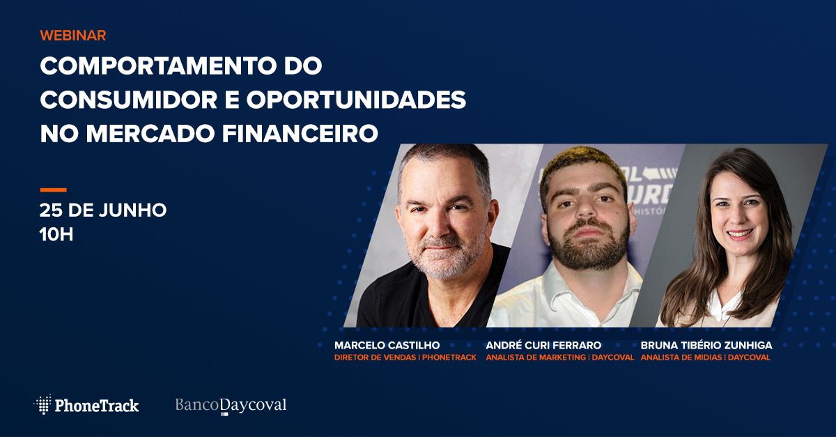 Webinar: Comportamento do consumidor e oportunidades no mercado financeiro
