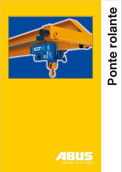 catálogo da ponte rolante ABUS