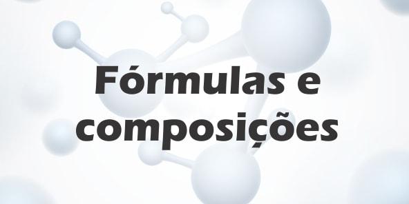 Fórmulas e composições