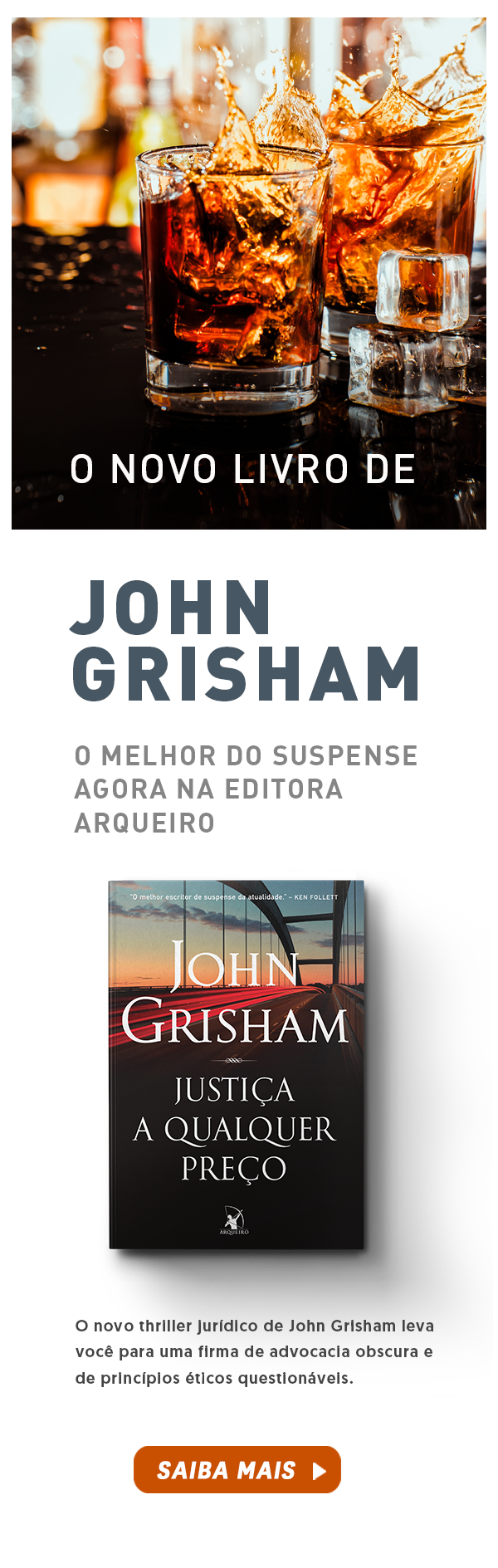 LANÇAMENTO || NOVO LIVRO DE JOHN GRISHAM