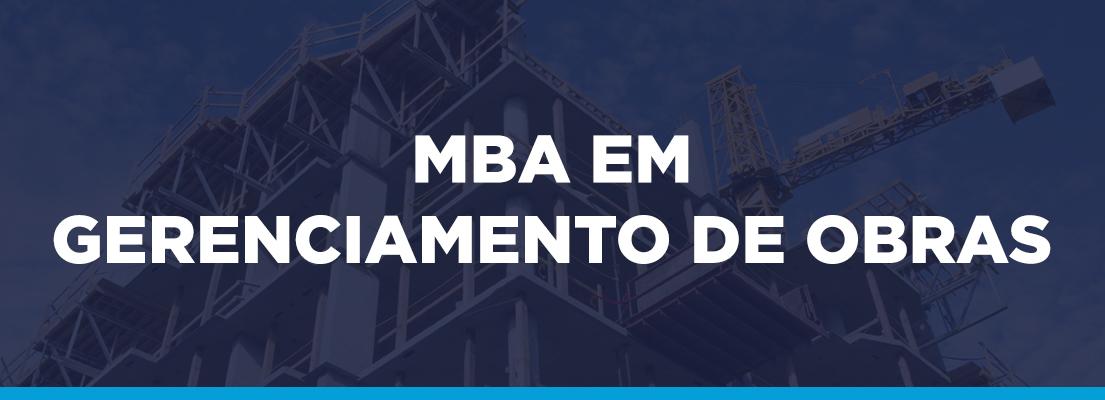 MBA em gerenciamento de obras