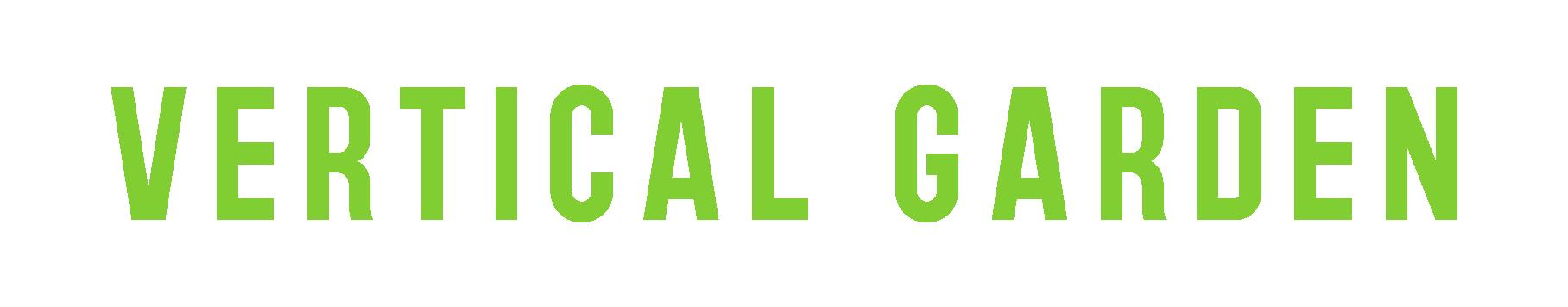 logo vertical garden plantas desidratadas