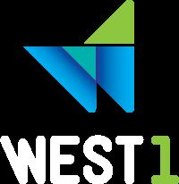 Logo WEST 1 INtercâmbio