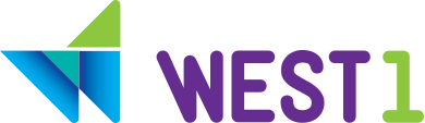 Logo WEST 1 Intercâmbios